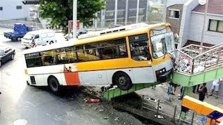 Ultimate Bus Fails Compilation 2017!