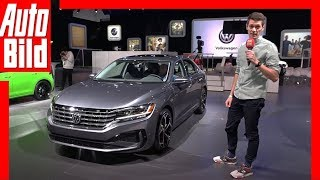 VW US-Passat Facelift (NAIAS 2019) Sitzprobe / Vorstellung / Details