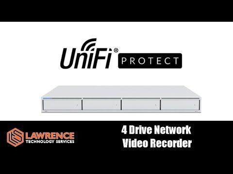 Ubiquiti UNVR: UniFi Protect 4 Drive Network Video Recorder