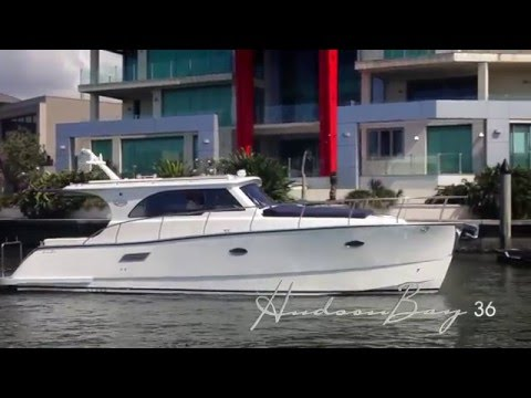 The Hudson Bay 36 | Clipper Motor Yachts Australia