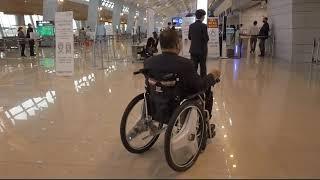 하이코어 전동 휠체어 _ 비행기 타고 제주도로
