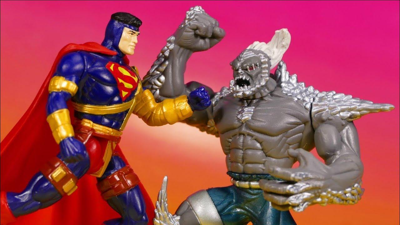 Kenner Superman Vs Doomsday Hunter Prey 2 Pack Retro Action Figure