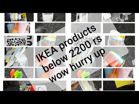 Below 2200rs IKEA products|resent shopping IKEA prices || very cheap and the best quality products .