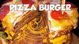 La PIZZA BURGER mas GRANDE de Latinoamerica / David Show