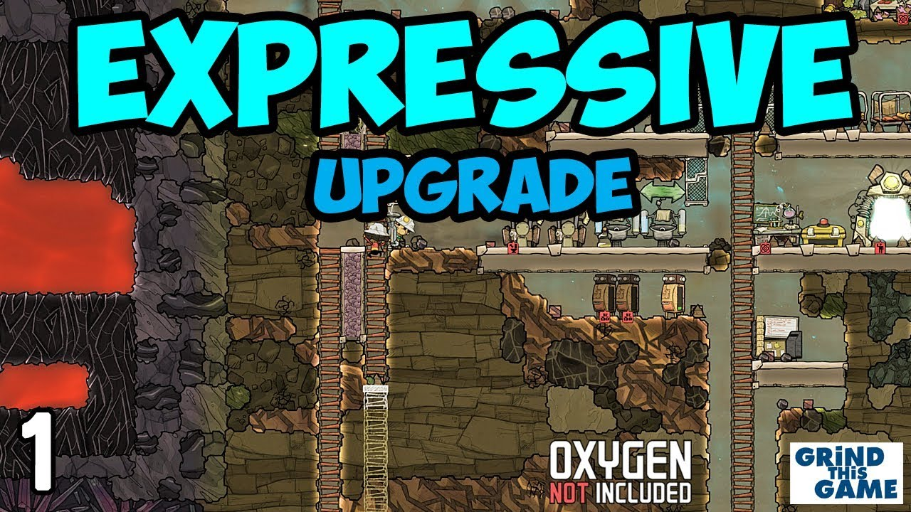 EXPRESSIVE UPGRADE - ROCK MAP #1 - Oxygen Not Included