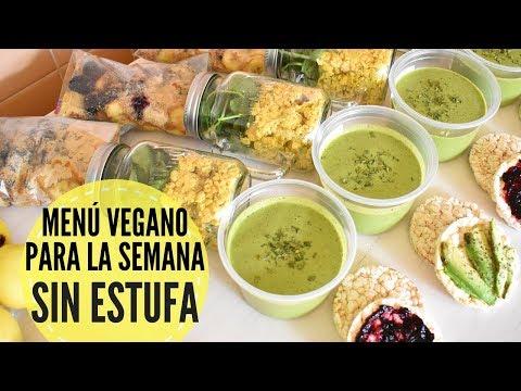 Cenas veganas para adelgazar doovi for Comida sin estufa