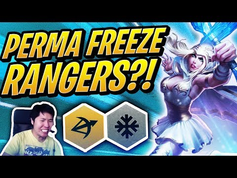 PERMA FREEZE RANGERS ARE BROKEN!? | Teamfight Tactics | TFT | League of Legends Auto Chess