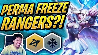 PERMA FREEZE RANGERS ARE BROKEN!? | Teamfight Tactics | TFT | League of Legends Auto Chess