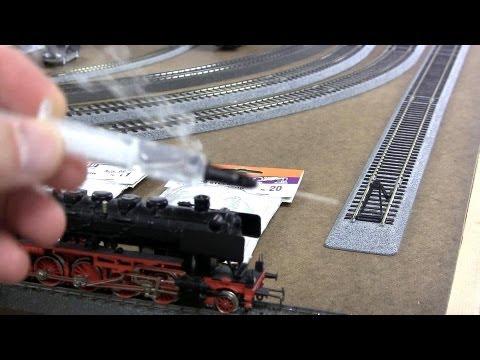 Seuthe Smoke generator: How to apply smoke fluid  HO Marklin DB50 Digital