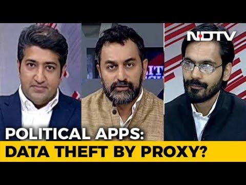 Political Apps: Data 'Theft' By Proxy?