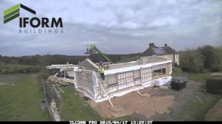 Iform Passive Timber Frame Show Home Build Timelapse