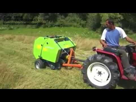 hay baler machine mini round baler for sale