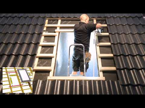 Sunlux Centre Pivot Roof Windows Installation Video