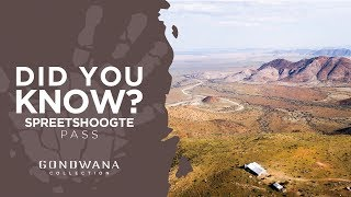 Did You Know - Spreetshoogte Pass Namibia