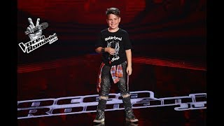 Andy Nicholas Neagu - Come with Me Now | Auditiile pe nevazute | Vocea Romaniei Junior 2018
