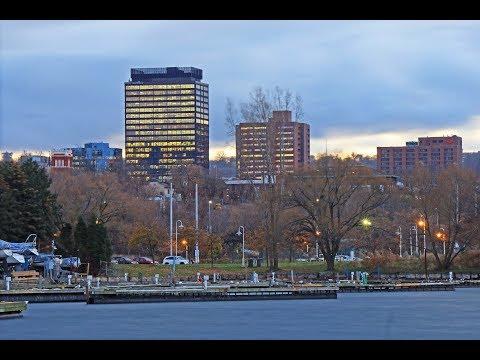 Hamilton, Ontario: Driving Around Downtown In November, 2017