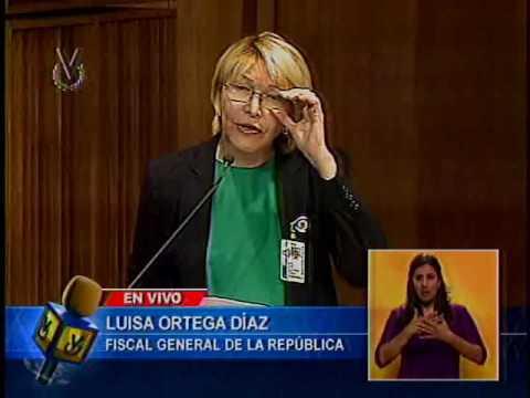 Fiscal Ortega Díaz fija posición ante sentencias emitidas por el TSJ