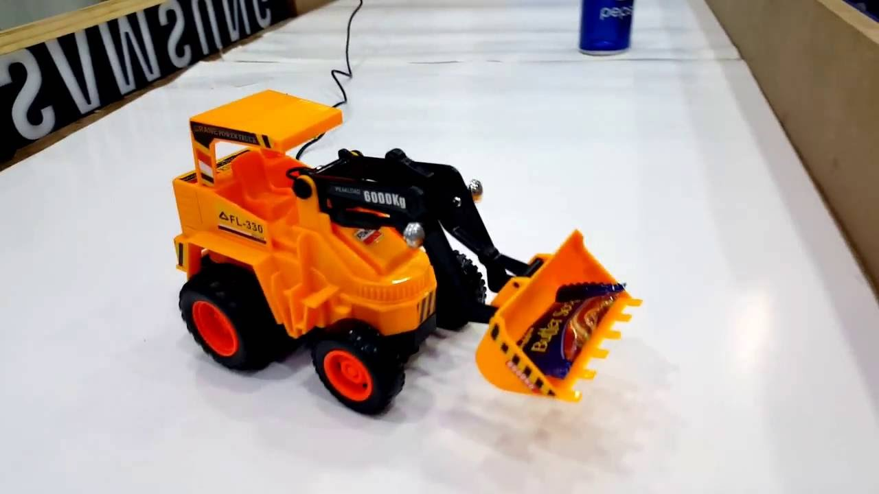 Kids Fashion & Toys Wire Control Shovel Truck For Kids - YouTube