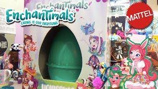 Uovissimo Enchantimals 2018- Mattel - Aril & gli Art Attack brutti.