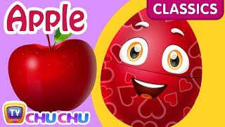 ChuChu TV Classics - Learn Fruits for Kids with Names   Surprise Eggs Fruits & Vegetables