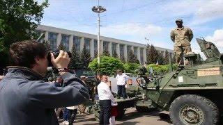 """Молдова 08 05 2016 : """"НАТО в Гостях"""" !!!"""