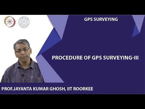 Procedure of GPS Surveying-III