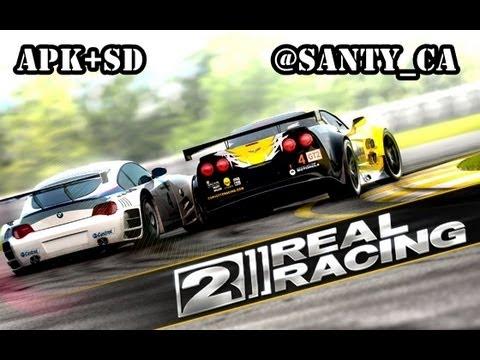 Descargar e instalar Real Racing 2 para Android - 1 Link de descarga datos sd y apk.