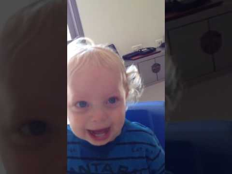 The funniest baby's laugh!