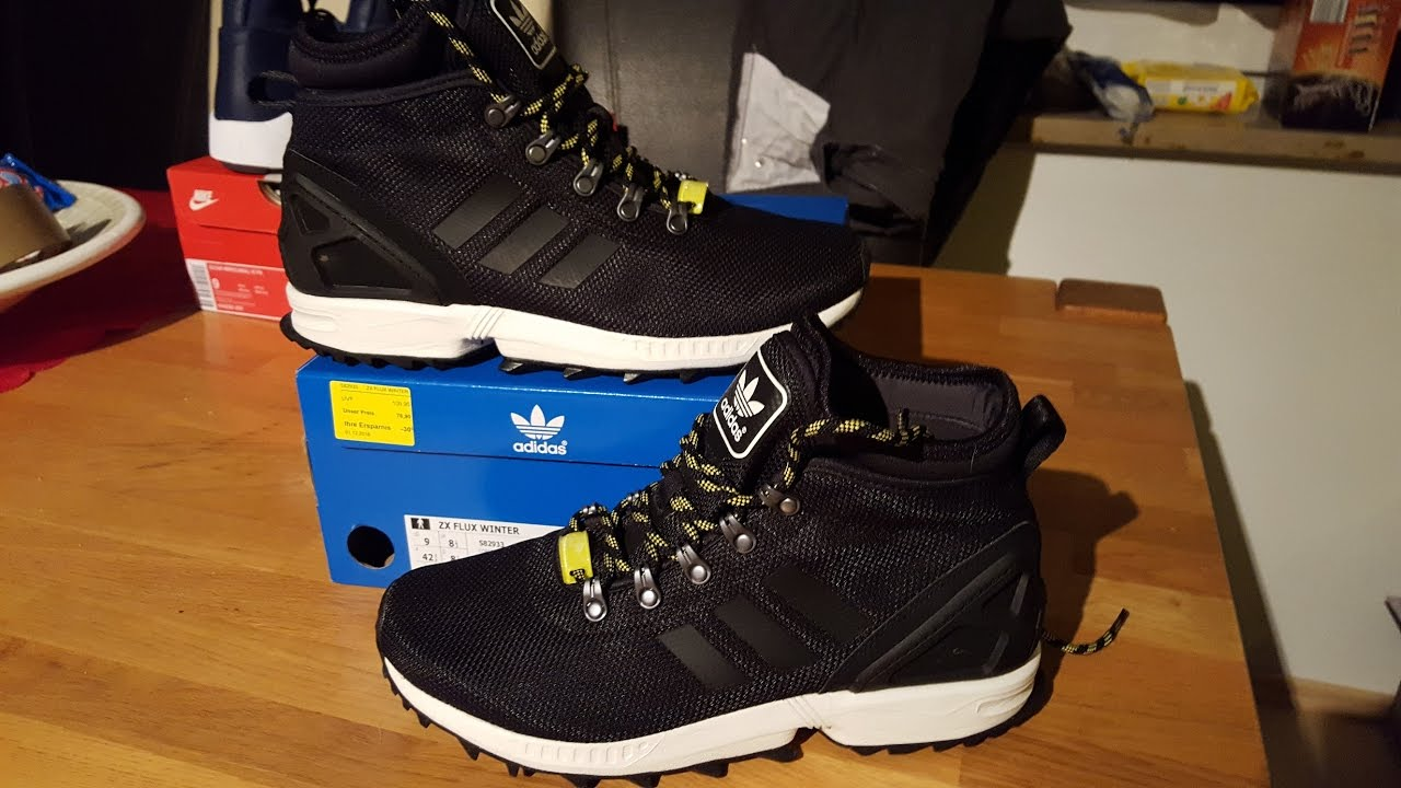 new style 0b8b9 9fcb1 Adidas ZX Flux Winter Stiefel Boots Sneaker Review by Killer Shoes