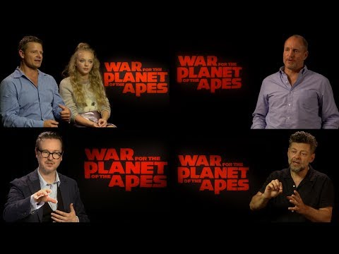Thumbnail: 'War for the Planet of the Apes' Stars Discuss Director Matt Reeves's Style