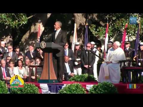Xem lại Video Tổng Thống Barack Obama phát biểu với ĐGH Phanxicô