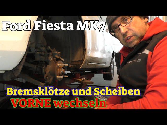 Ford Fiesta MK7 - Bremsklötze und Scheiben wechseln