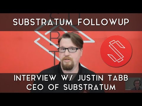 Substratum Follow-Up | Beta release news, technical features