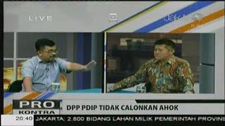 SERU! Debat Pangeran Norman (Teman Ahok) vs POlitisi PDIP, mengapa ahok tidak didukung PDIP