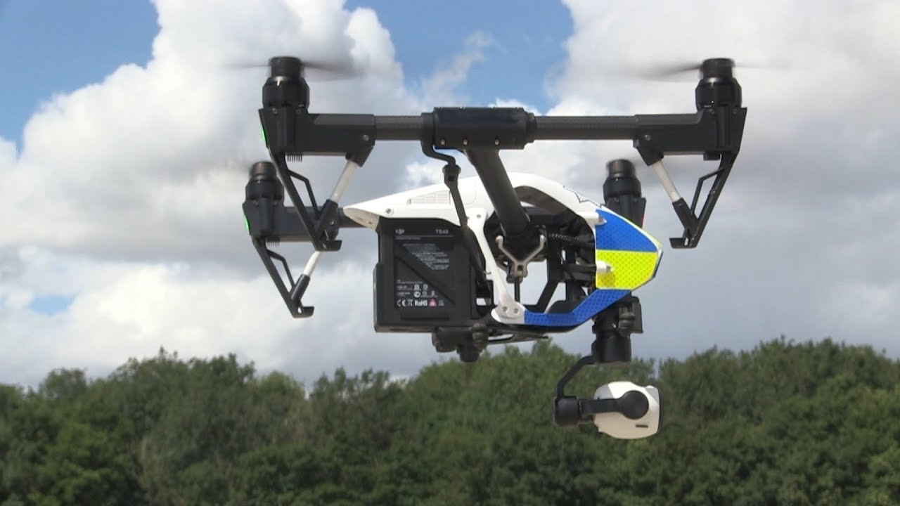 Police Start Using Drones To Help Fight Crime In Norfolk