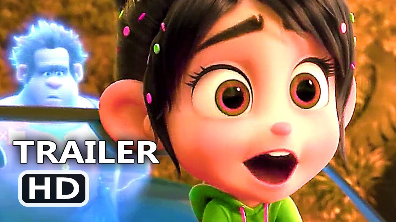 WRECK-IT RALPH 2 Official Trailer # 2 (NEW 2018) Ralph ...