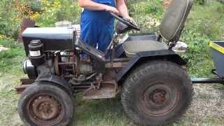 Самодельный трактор от Земляка
