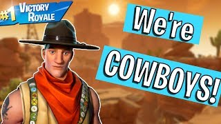 FORTNITE *NEW* GAME MODE! WILD WEST TAKEOVER!