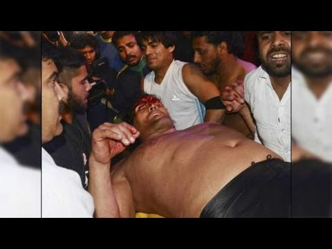 Khali in ICU after foreign fighters smashed him with chairs in wrestling show