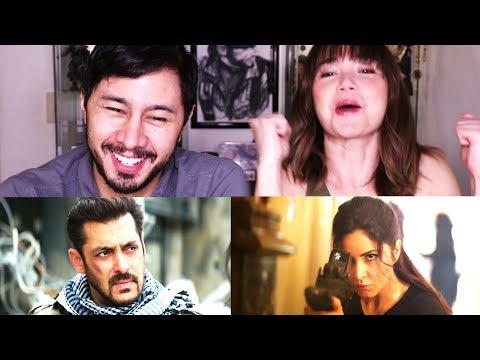 TIGER ZINDA HAI | Salman Khan | Katrina Kaif | Trailer Reaction