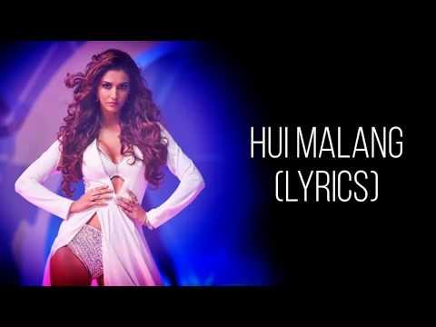 Hui Main Malang Full Song With Lyrics Malang | Asees Kaur | Female Version | Aditya Roy K, Disha P