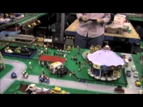 North GA Lego Train club at Atlanta, GA - YouTube