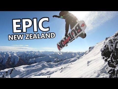Epic New Zealand Snowboarding Adventure