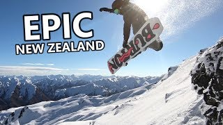Epic New Zealand Snowboarding Adventure