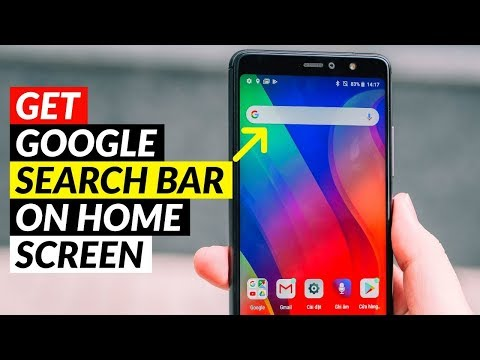 How To Get Google Search Bar On Home Screen | Add Google Search Bar On Home Screen
