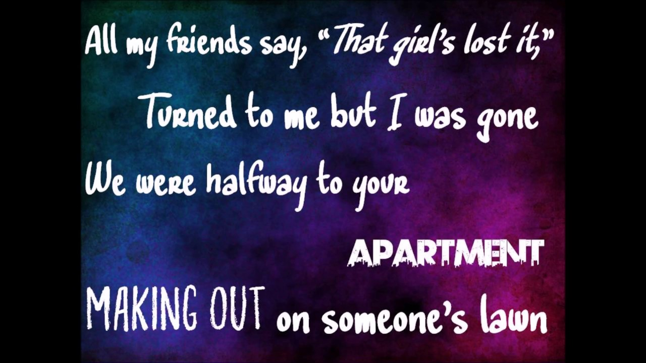 And all my friends are gone lyrics