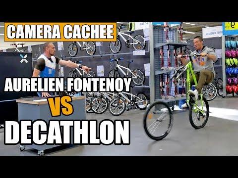 Caméra cachée : Aurélien Fontenoy piège les vendeurs chez DECATHLON !