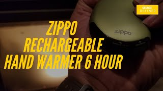 Zippo Rechargeable Hand Warmer 6 Hour/Battery Power Bank Everyday Carry EDC Gadget! Watch out Anker!