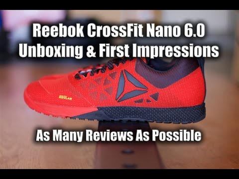 9cc730d9f322 Reebok CrossFit Nano 6.0 Unboxing   First Impressions - Best CrossFit Shoes