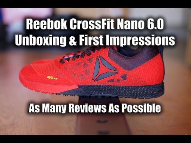 20aa45737bb5 Reebok CrossFit Nano 6.0 Review + Video Review